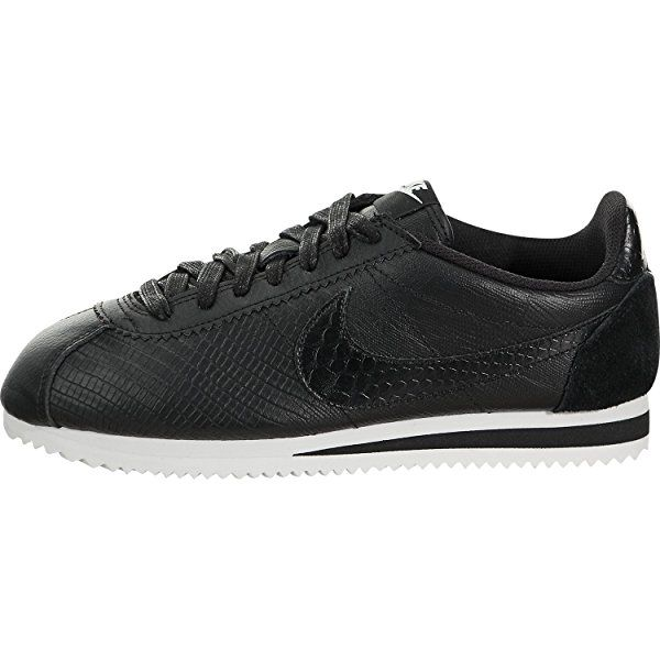 innovative design c4dca f4117 Nike CLASSIC CORTEZ LEATHER PREM WOMENS running-shoes 833657-0055 - Black