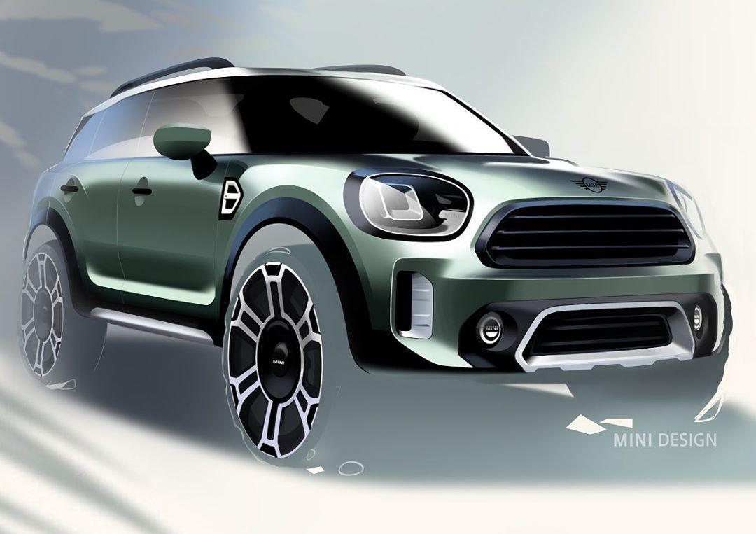 """Car and Sketch on Instagram: """"Mini Countryman Design Sketch 🇬🇧😎🇬🇧😎🇬🇧 @mini  @bmw @bmwgroup @carandsketch #car #mini #cardesign #cardesignsketch #sketch #automotivedesign…"""""""