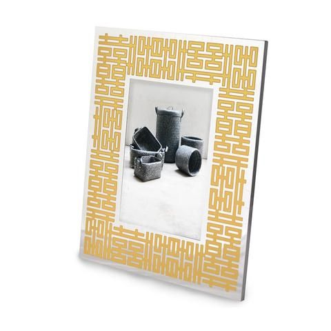 Double Happiness Photo Frame Silver Gold Double Happiness Happy Gifts