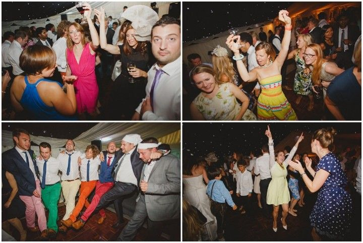 Stephanie and Samuel's Laid Back Garden Wedding with 1000 Origami Paper Birds. By Nicki Feltham Photography