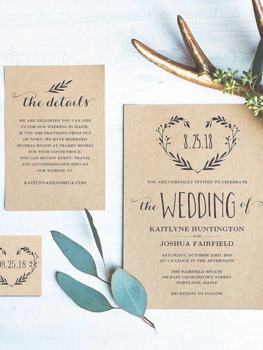 Wedding Program Printable Wedding Program Template Rustic Etsy In 2021 Free Printable Wedding Invitation Templates Free Wedding Invitation Templates Wedding Invitation Templates Rustic