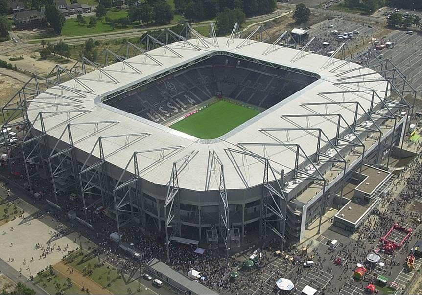Soccer Stadium Of Borussia