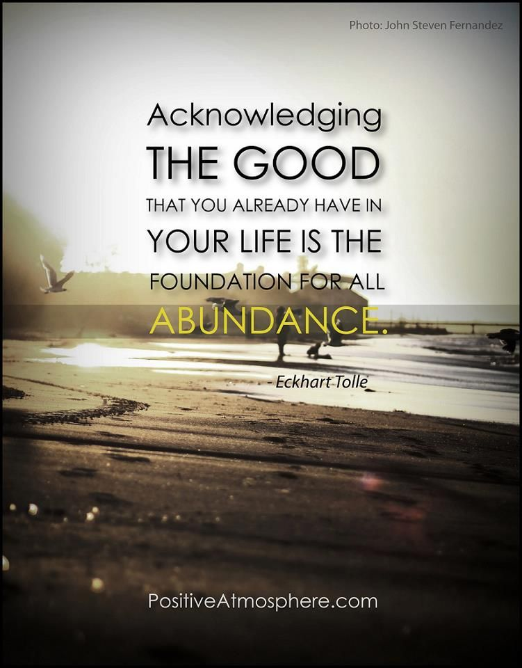The Foundation for Abundance Special quotes, Abundance
