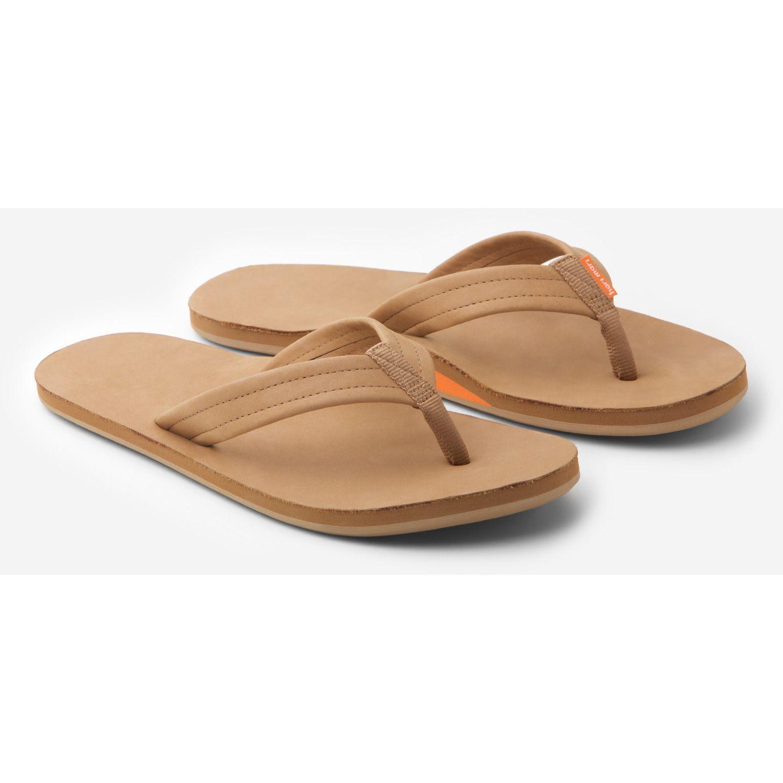 c72c4db07971 Hari Mari Flip Flops - Women s Orange   Tan Fields Style