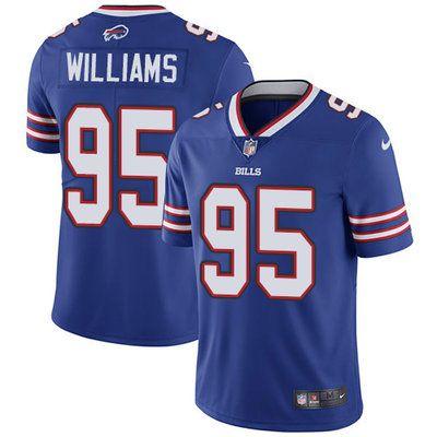 Top Nike Bills #95 Kyle Williams Royal Blue Team Color Men's Stitched