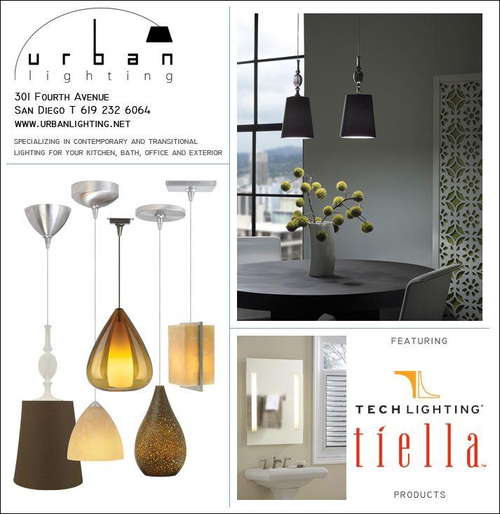 San Diego Home Garden Magazine Ad Featuring Tech Lighting Products Urban Lighting Lighting Contemporary Lighting