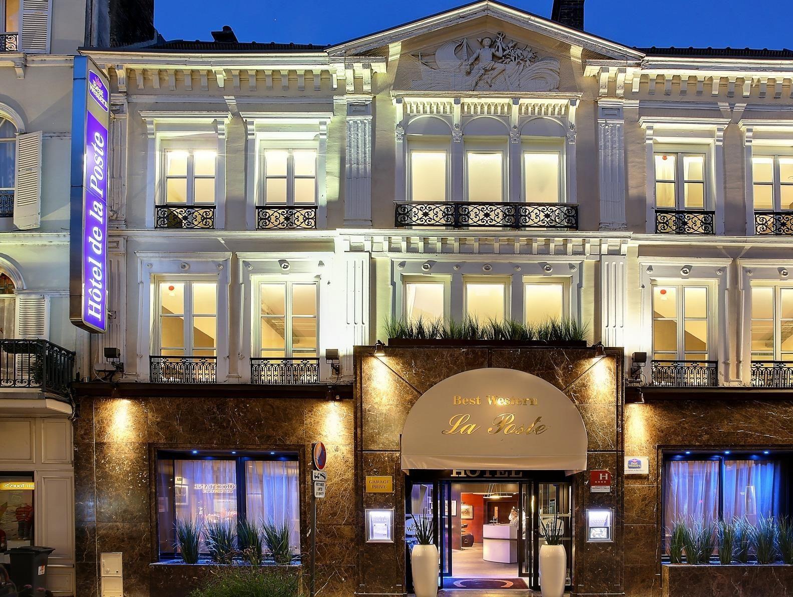 Troyes Best Western de La Poste France, Europe Best