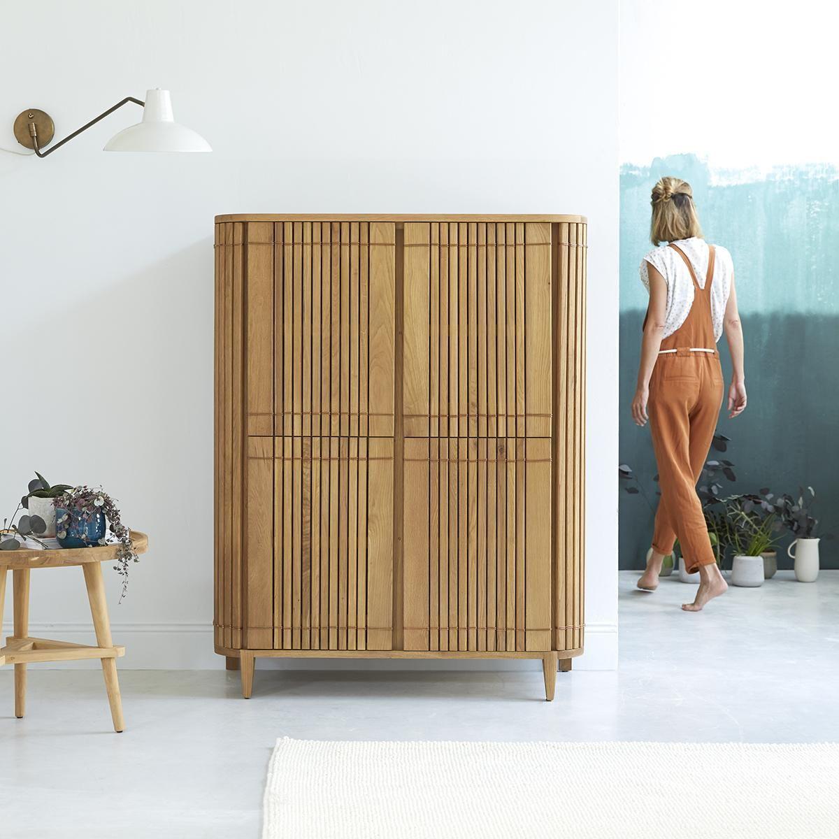 Oak Dresser 145 Cm Living Room Storage Furniture En 2020 Meuble Rangement Armoire Rangement Mobilier De Salon