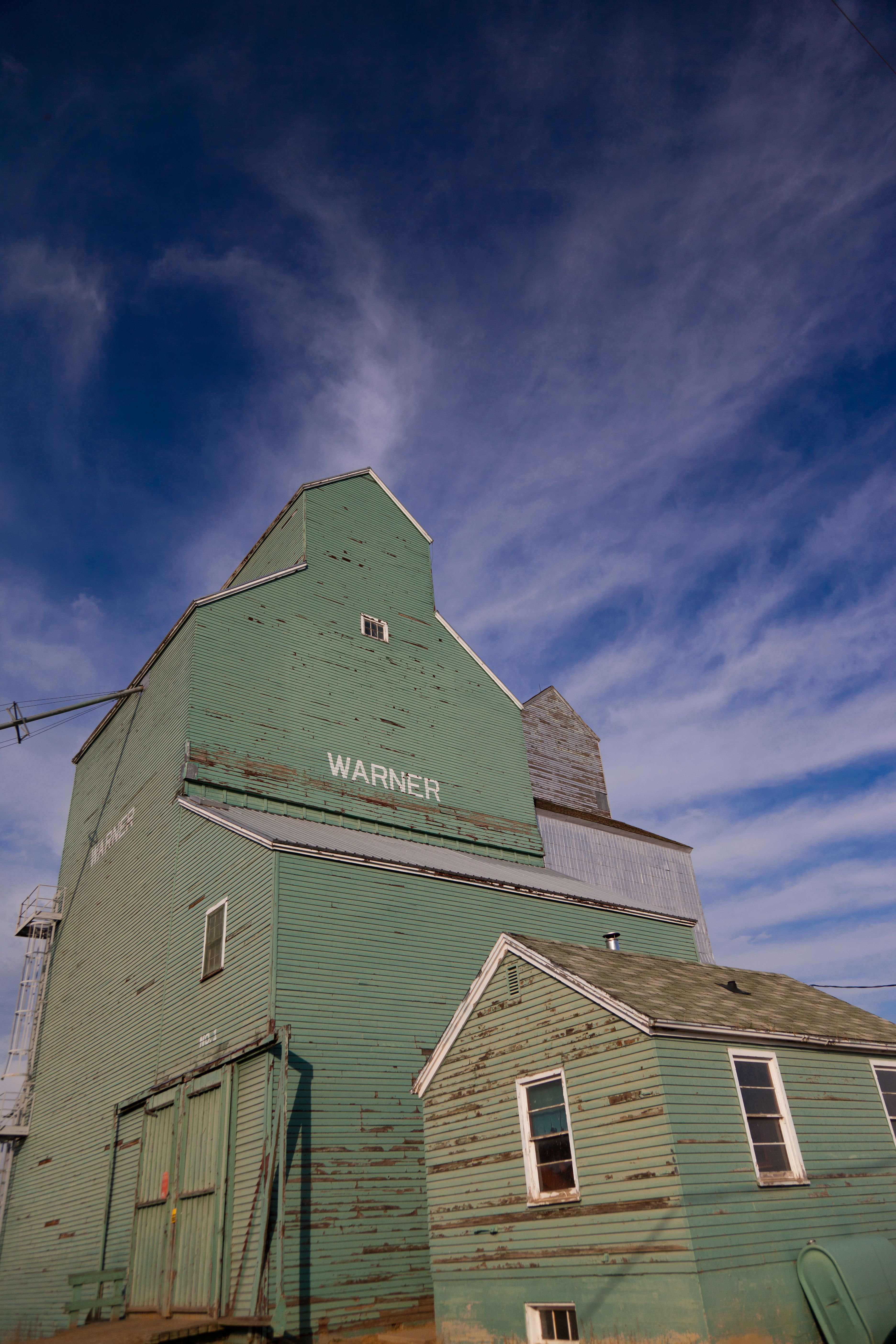 Grain Elevator near Warner, AB http://exploresouthwestalberta.ca