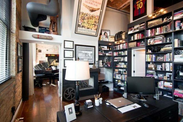 innenarchitektur industriellen stil karakoy loft, home offices im industriellen stil | youdeals, Design ideen