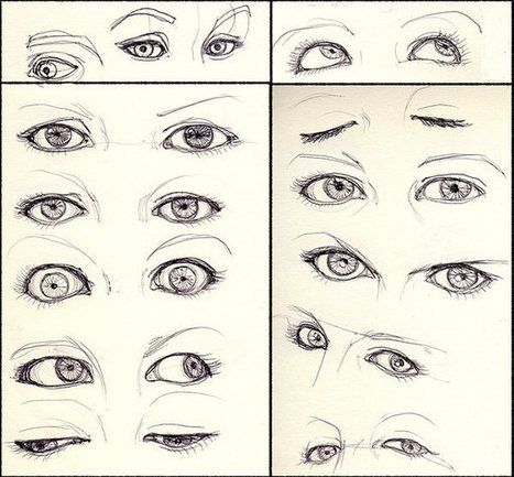 Drawing References And Resources Eye Drawing Realistic Eye Drawing Eye Drawing Tutorials