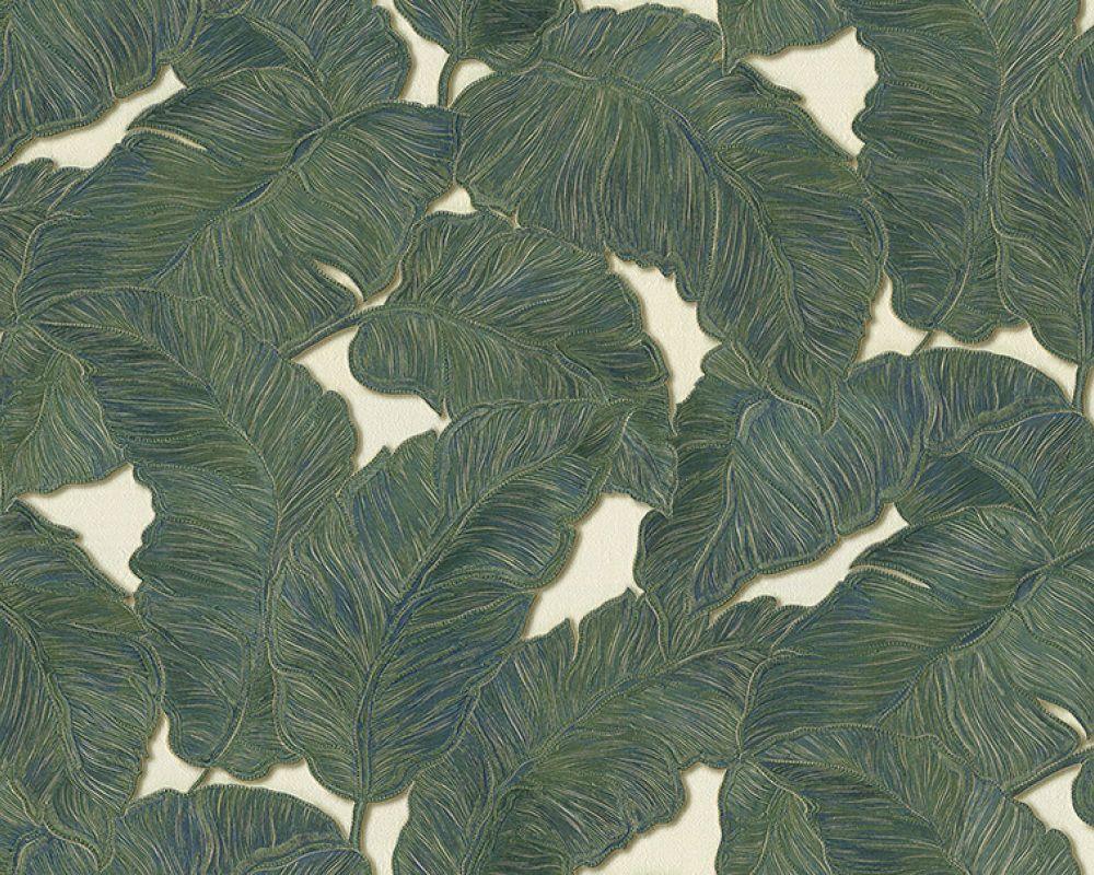 Luxus Vlies Tapete AS 96169-1 JUNGLE Große Blätter Natur