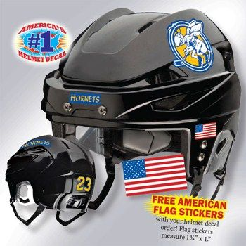Hockey Helmet Decals And Stickers Protuff Decals Hockey Helmet Helmet Baseball Helmet