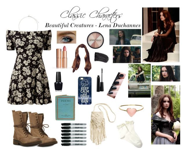 CLASSIC CHARACTERS~ Beautiful Creatures-Lena Duchannes by gabcantlie on  Polyvore featuring polyvore fashion style