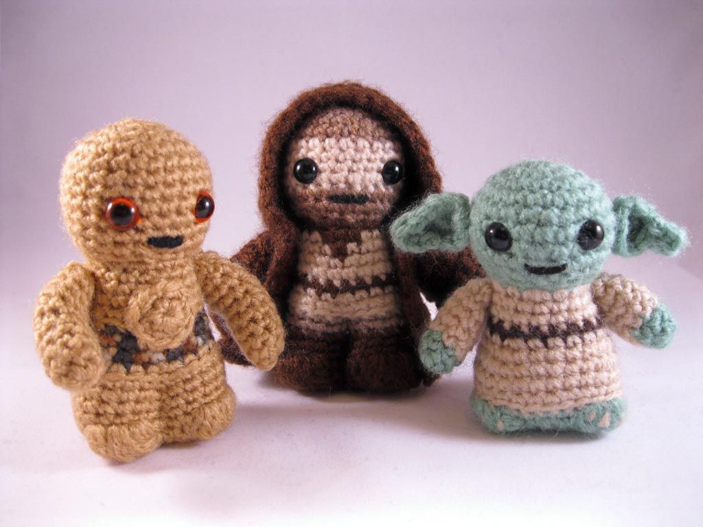 Amigurumi Star Wars Patterns : Star wars mini amigurumi patterns amigurumi star and minis