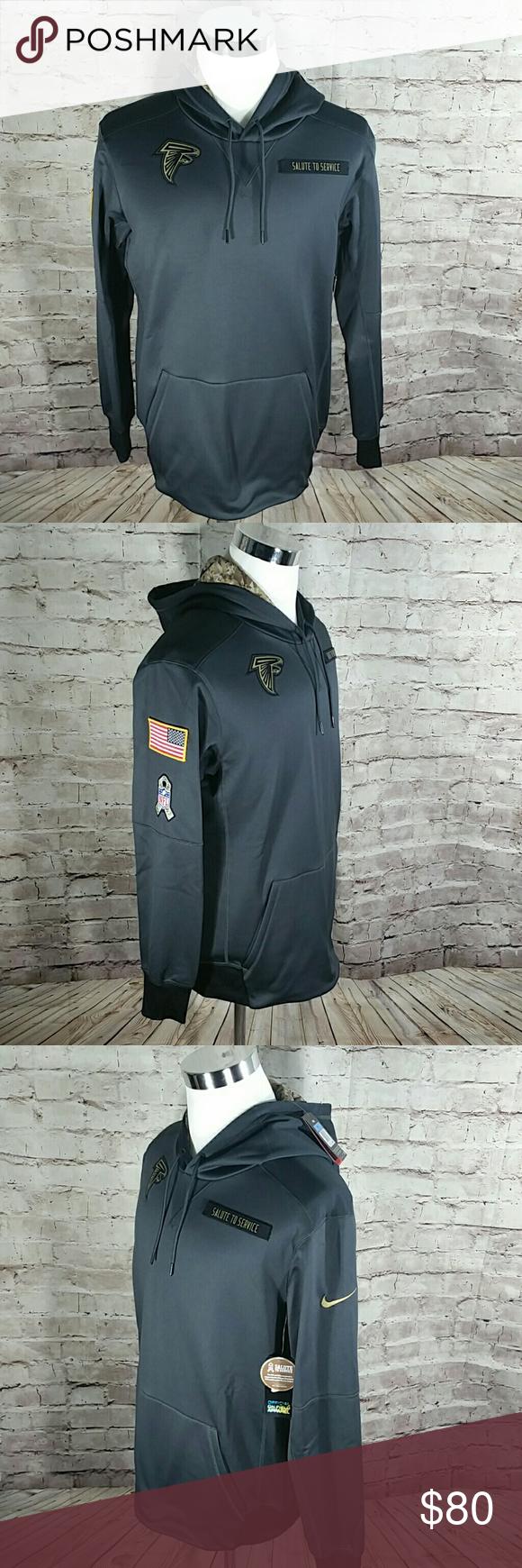 sale retailer b1b75 05681 Atlanta Falcons Therma-fit Salute to Service Hood Atlanta ...