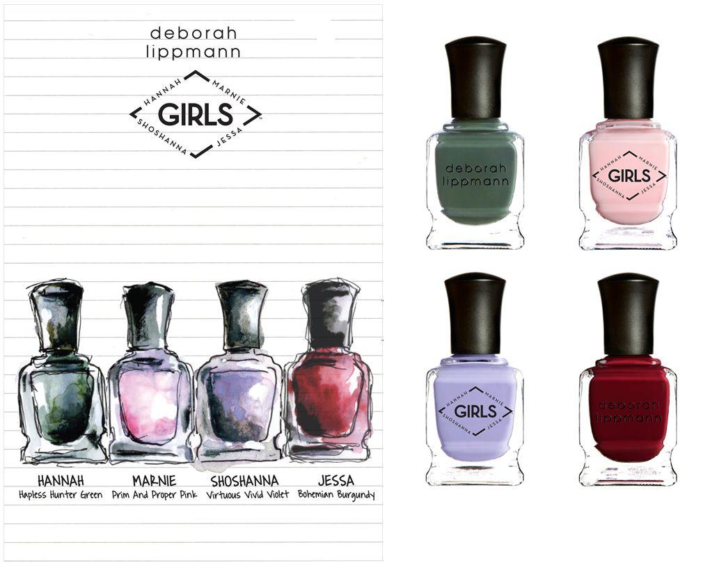 Deborah Lippmann-HBO Girls Nail Lacquer | Deborah lippmann, Girls ...