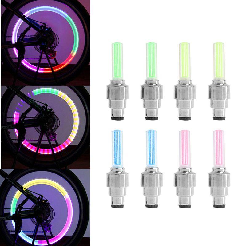 Rainbow DEL De Vélo Spoke Lumières ** Nouveau **