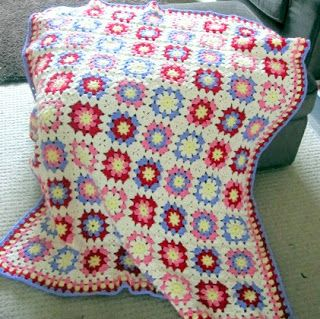 Crochet Therapy: Afghan Blanket