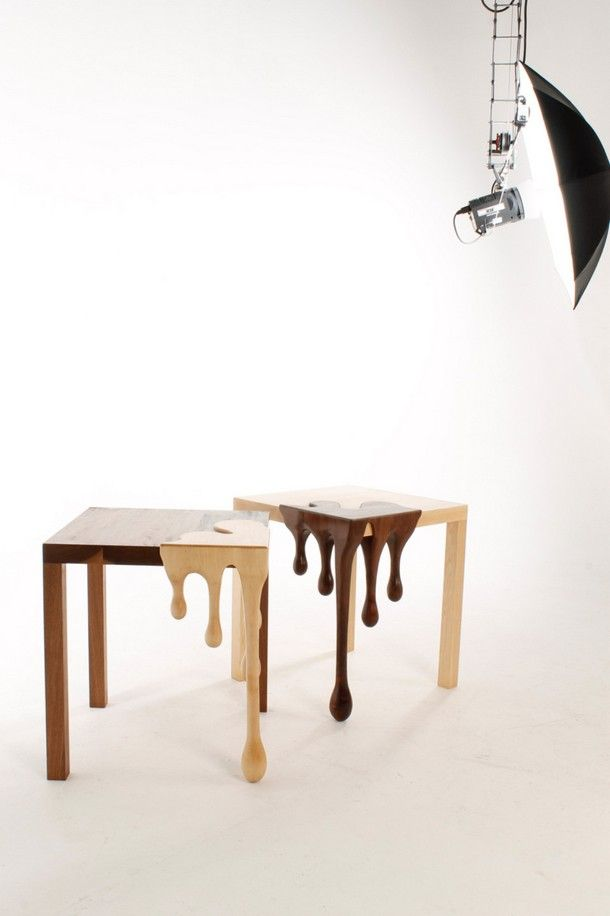 Chocolate Art Furniture   Fusion Tables By Matthew Robinson