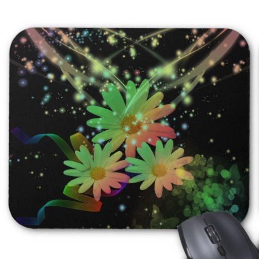 Mousepad, flores tapete de raton