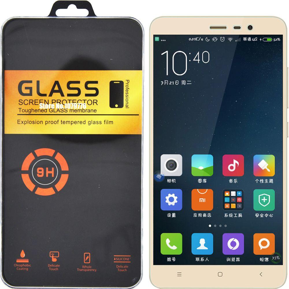 Paquete Al Por Menor Para Xiaomi Redmi Note 3 Pro De Cristal