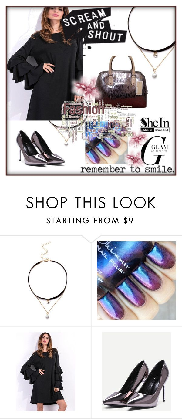 """Shein 4"" by amra-f ❤ liked on Polyvore featuring Michael Kors and shein"