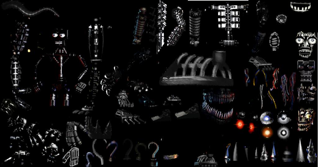 Endoskeleton resources pack by De-activating.deviantart