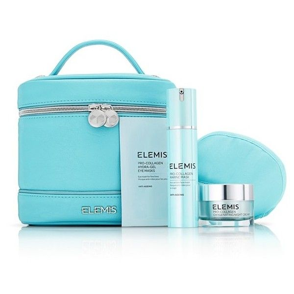 Women's Elemis 'Pro-Collagen' Night Time Collection ($128) ❤ liked on Polyvore featuring beauty products, skincare, face care, face moisturizers, no color, eye mask, moisturizing mask, dry skin face moisturizer, cleansing mask and anti aging face moisturizer