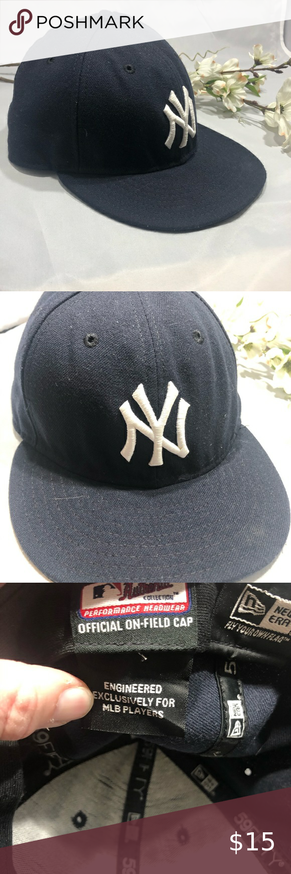 Ny Yankees Hat With Brim 7 1 8 Yankees Hat Women Shopping Fashion Trends