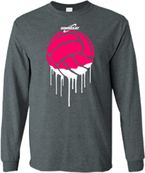You'll be oozing style in this Volleyball Paint long sleeve t-shirt from GIMMEDAT.
