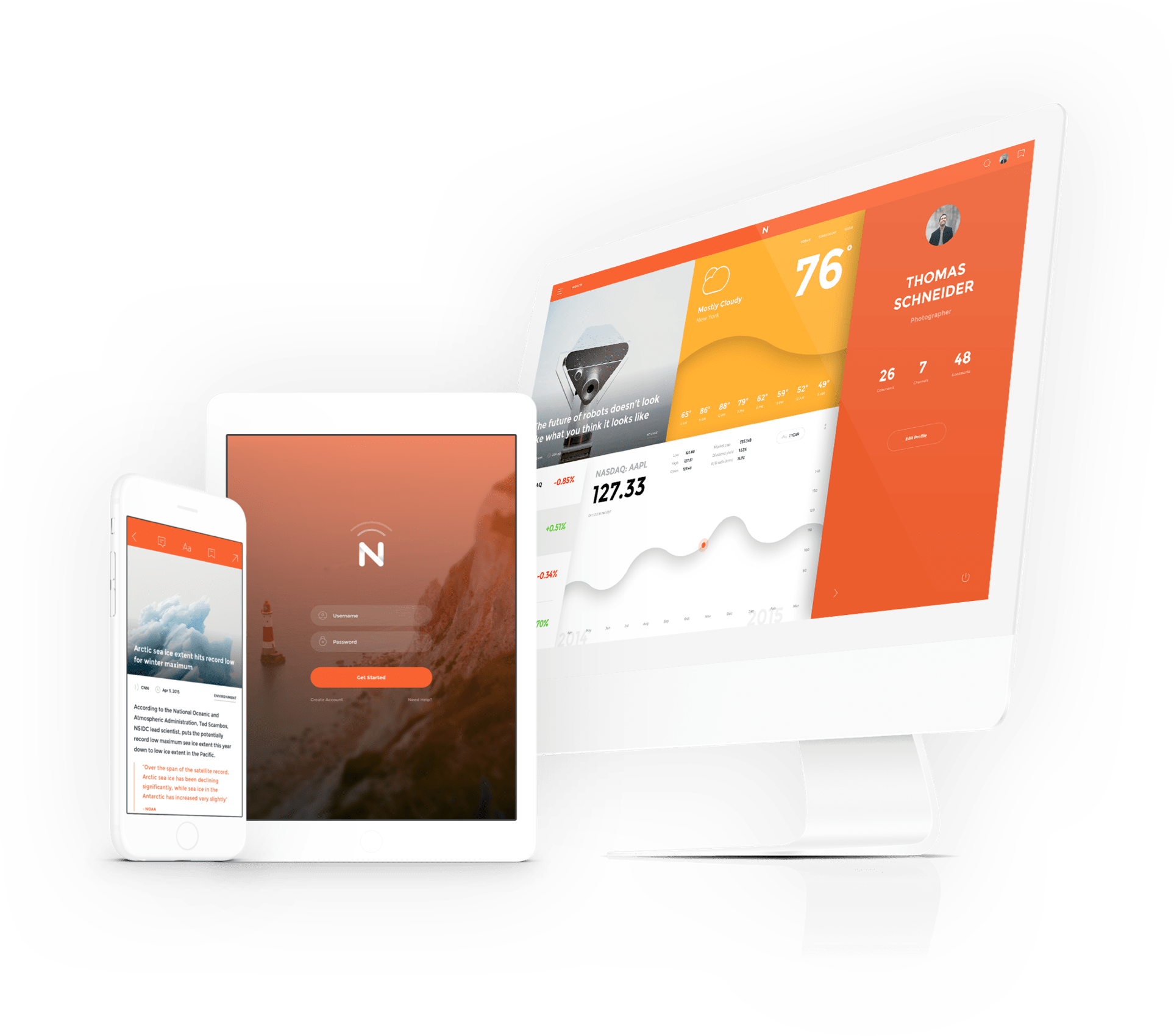 Meet Now A beautiful cross platform UI kit Gallery