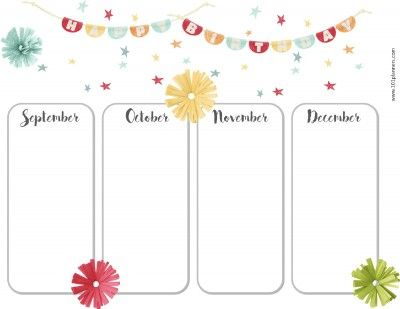 free birthday calendar bullet journal pinterest birthday