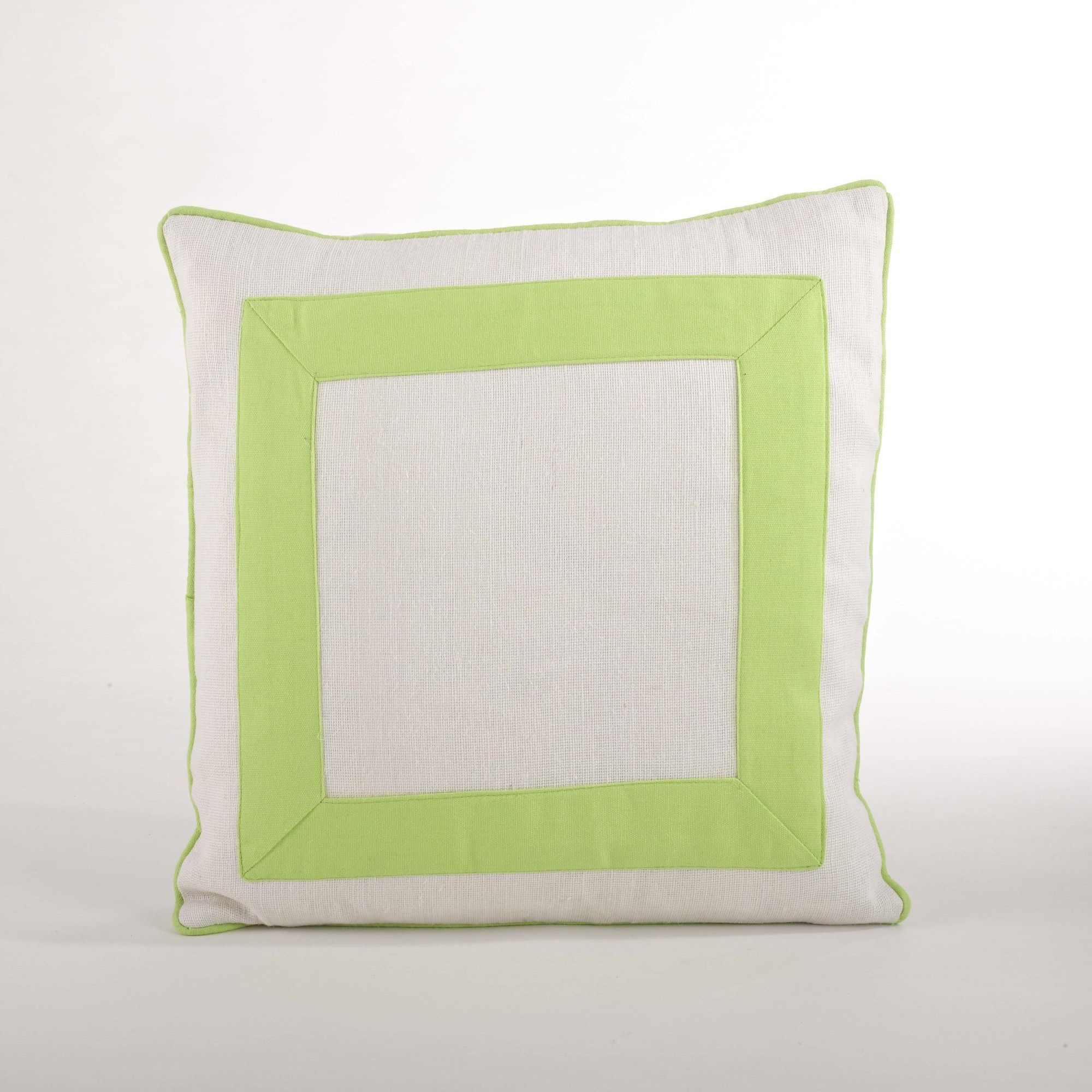 Crete Banded Design Down Filled Throw Pillow