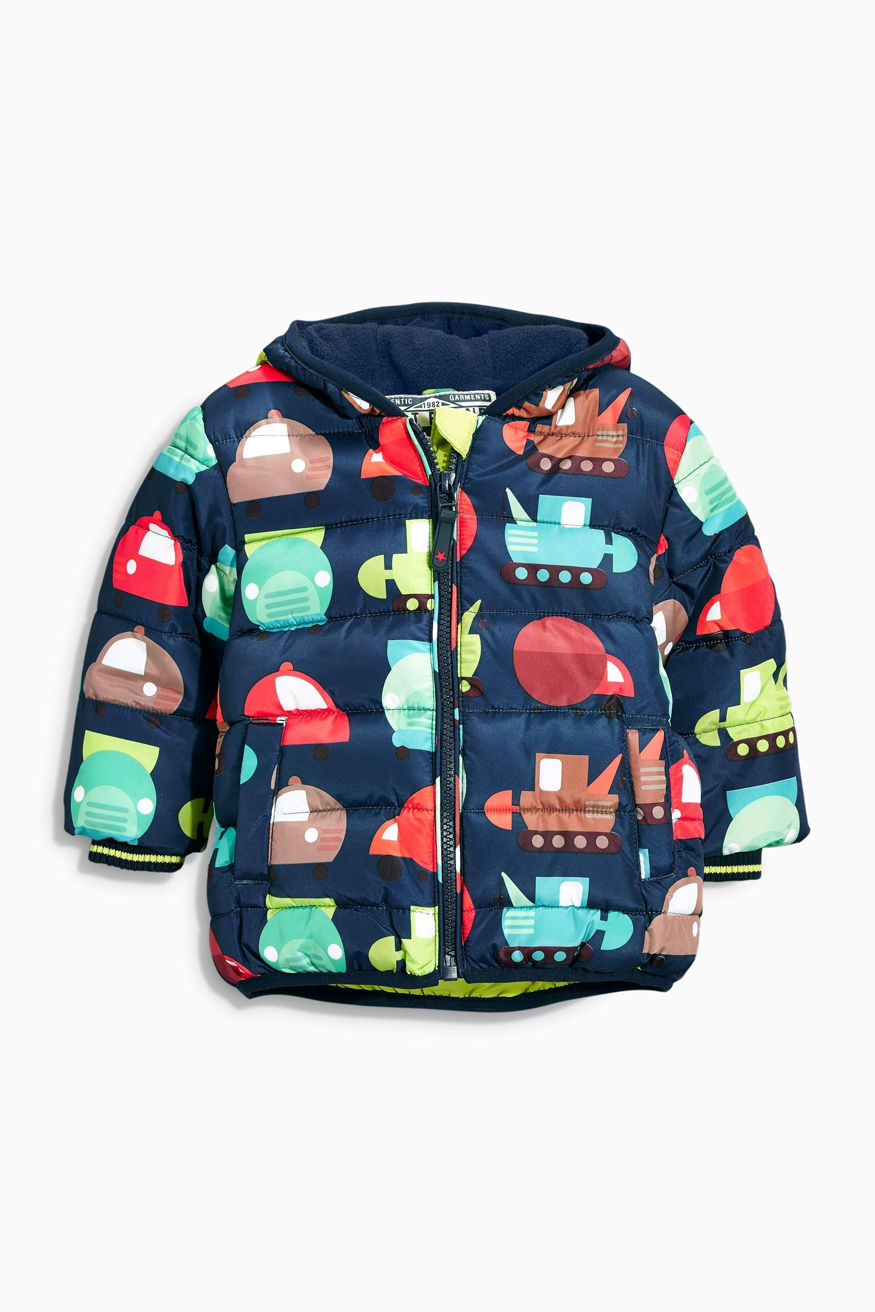 Buy Multi Printed Padded Jacket (3mths-6yrs) from the Next UK ...