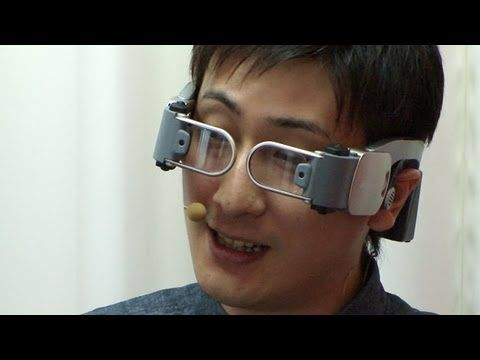 9e96bb084ddb Docomo Hands-Free Videophone for futuristic glasses-type HMD devices ...