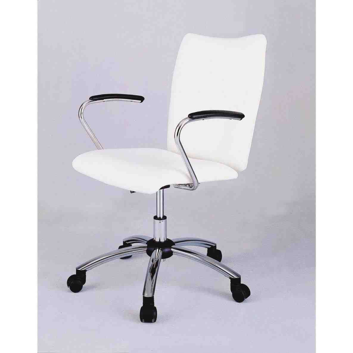 Best Cheap Office Chairs With Arms Office Chair White 400 x 300
