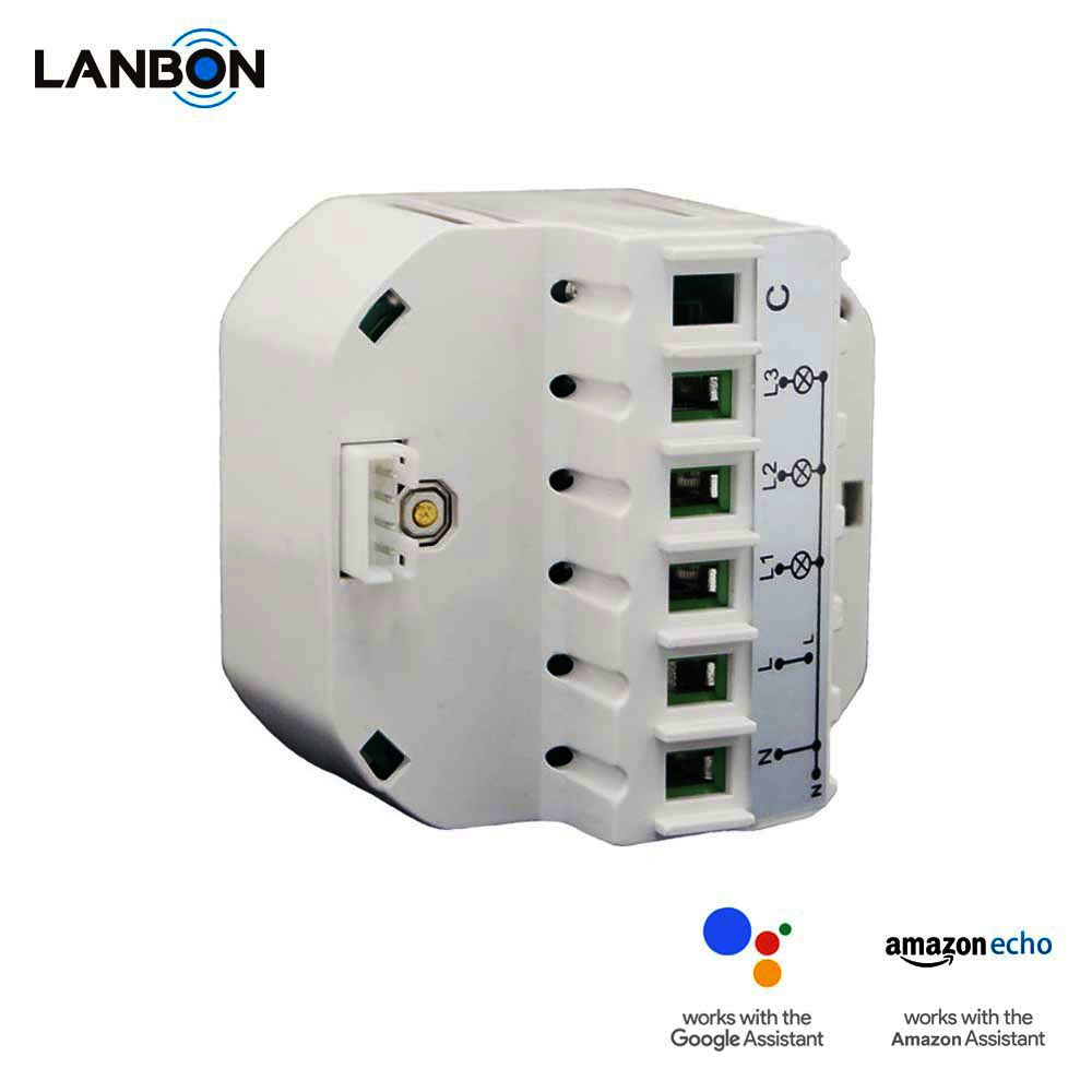 Lanbon Latest Intelligent Products Wifi Module For Smart Home System Amazon 1 Gang 2 Gang 3 Gang Electrical Smart Home Cctv Surveillance Cctv Security Systems