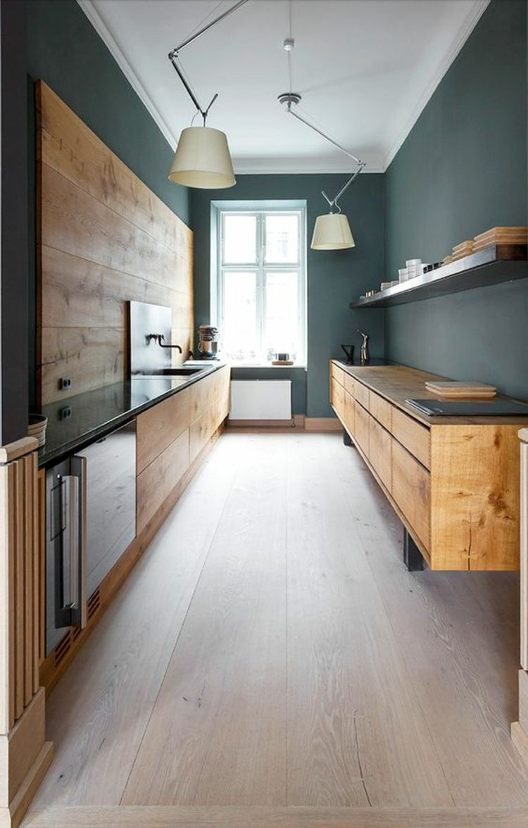 k chenideen die mit den aktuellen trends schritt halten k che planen holzboden und geplant. Black Bedroom Furniture Sets. Home Design Ideas