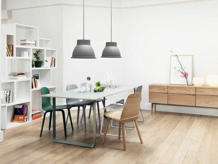 esszimmer modern bequeme stühle und schicker esstisch | esszimmer, Esszimmer dekoo