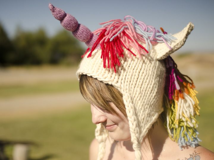 Knit Unicorn Horn Pattern : Knit unicorn hat pattern by brittany tyler available on