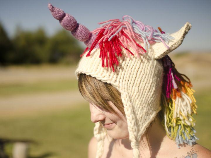 Knit Unicorn Horn Pattern : Knit unicorn hat pattern by brittany tyler available on