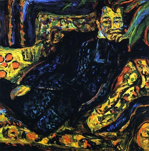Ernst Ludwig Kirchner - Herrenbildnis, Hans Frisch.