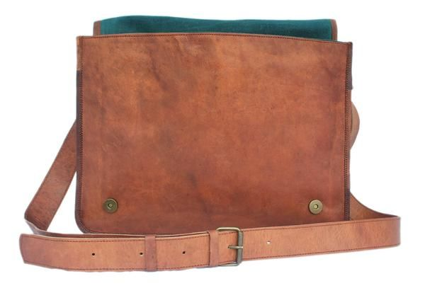 ba6ba7d9d55b Get your hand on the most amazing looking brown vintage leather messenger  bag for men. One of the best looking leather laptop bags available in USA.
