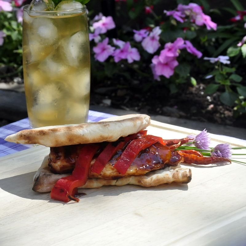 Rock Recipes -Grilled Kung Pao Chicken Burgers. The Sauce