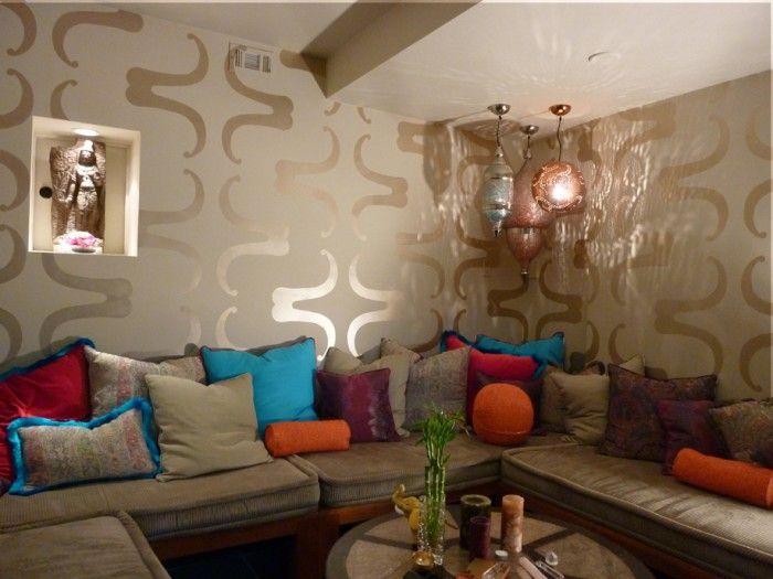 Modern Moroccan Meditation Room