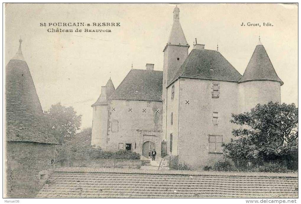 Beauvoir chateau - Delcampe.net