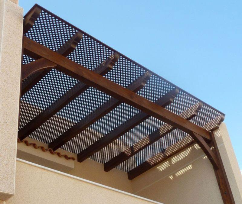 Resultado de imagen para pergolas techadas balconies - Pergolas para terraza ...