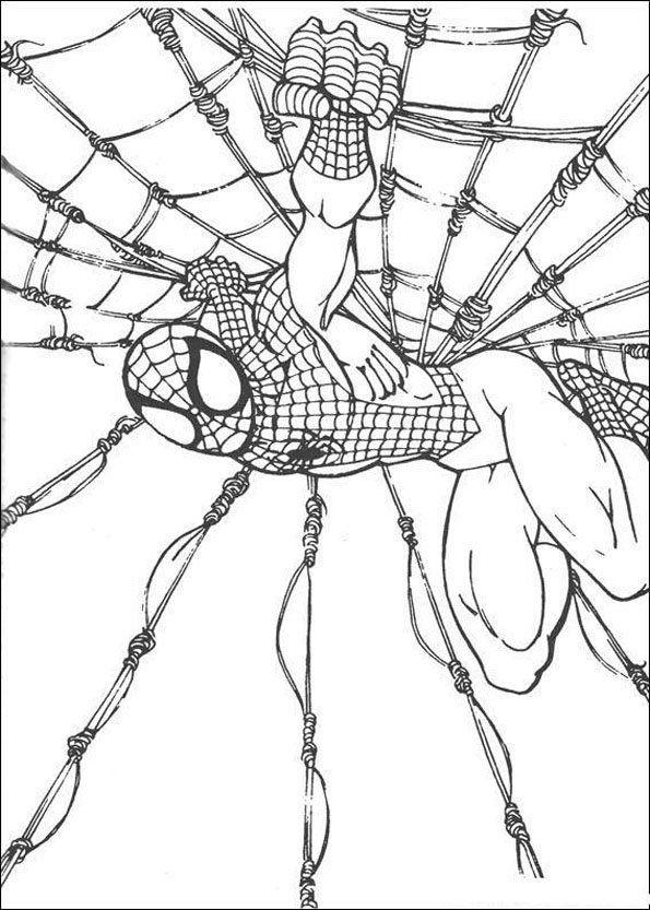 Coloriage Spiderman 11 Dlya Detej