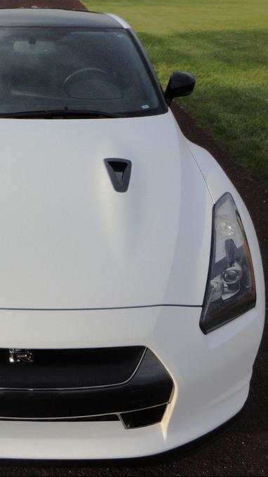 Nissan : GT R GTR GT R 3m Matte White Wrap Book+Keys R35 R34 JDM